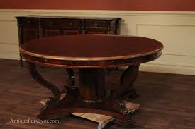 dining rooms excellent vintage mahogany round dining table