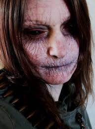 Realistic Scary Halloween Costumes 25 Scariest Halloween Makeup Ideas Face Shared Slingpic
