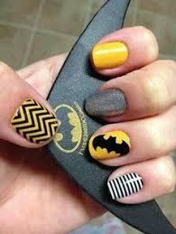 nail designs nail art black neon yellow sparkles glitter