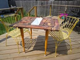 Good Wood For Outdoor Furniture by Outdoor Pallet Wood Table Outdoor Furniture Pallets Outdoor
