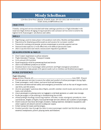Sample Resume Of Flight Attendant by Flight Attendant Resume Budget Template Letter
