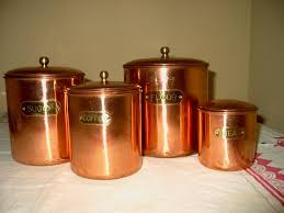 copper canister set kitchen 28 copper canisters kitchen hammered copper 4 canister set