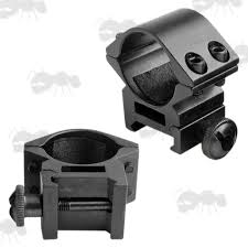 top scope rings images Weaver double clamped mounts picatinny rail rifle scope ring mount jpg