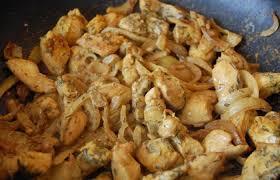 recette cuisine au wok wok de poulet curry et thym recette dukan pp par ingrid recettes
