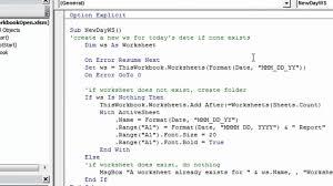 excel vba workbook open macro youtube