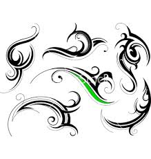 graphics for tribal swirl vector graphics www graphicsbuzz com