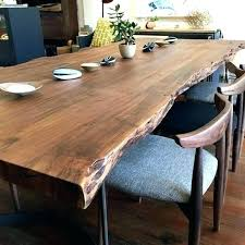 slab dining room table bold and modern live edge dining room table valuable design wood