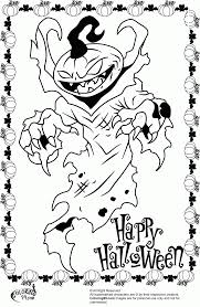 Halloween Color By Number Pages by Halloween Coloring Pages Online Scary Coloring Page