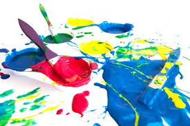 kids paint center arts and easy craft ideas