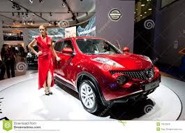 nissan juke red red jeep car nissan juke editorial stock photo image 19610878