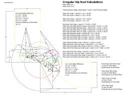 Hip Roof Design Calculator Treatise On Those Parts Of Geometry Needed By Craftsmen