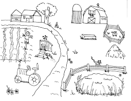 Coloring Page Farm farm coloring pages getcoloringpages