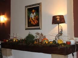 decor cheminee salon décoration de cheminée automnale plaisir jardin com