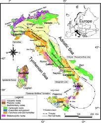 Maps Of Italy Environmental Geochemical Maps Of Italy From The Foregs Database