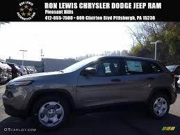 jeep cherokee sport interior 2017 2017 light brownstone pearl jeep cherokee sport 117062946
