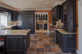 Houzz Painted Cabinets Rustic Painted Kitchen Cabinets Best 20 Distressed Kitchen