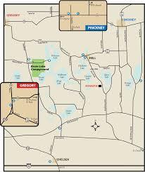 Chelsea Map Pinckney State Parkmaps U0026 Area Guide Shoreline Visitors Guide