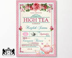 high tea kitchen tea ideas best 25 high tea invitations ideas on tea kitchen