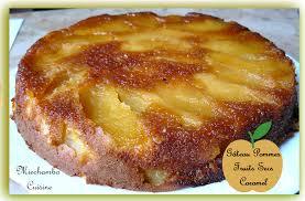 cuisine gateau aux pommes gâteau aux pommes et fruits secs au caramel miechambo cuisine