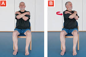Armchair Aerobics For Elderly Sitting Exercises Live Well Nhs Choices