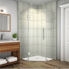 Frameless Glass Shower Door Kits by Bathroom Glass Shower Door With Walk In Shower Kits And Rain