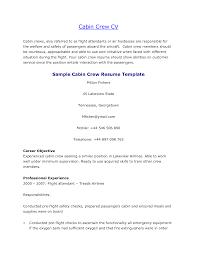 Resume Sample Flight Attendant Extraordinary Resume Flight Attendant Emirates With Cabin Crew