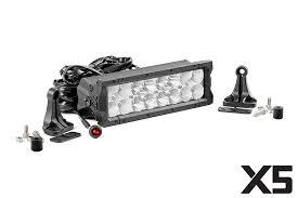 60 inch led light bar rou 76912 rough country 10in x5 cree led light bar 60 watt 5400 lumen