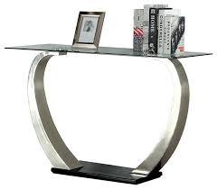 danvers modern sofa table contemporary console tables by