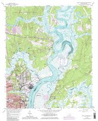 United States Topographical Map by North Charleston Topographic Map Sc Usgs Topo Quad 32079h8