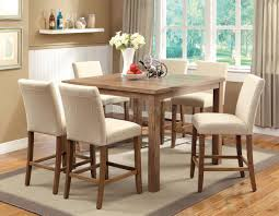 bar height dining room sets bar height dining chairs room table with 6 cottage 28