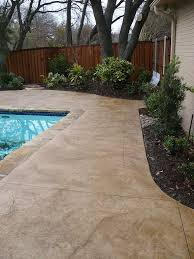 Backyard Stamped Concrete Ideas Best 25 Concrete Pool Ideas On Pinterest Beach Entrance Pool