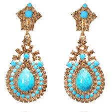 topaz earrings turquoise topaz earrings m flynn boston engagement rings