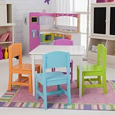 kidkraft nantucket table and chairs amazon com kidkraft nantucket big n bright table and chair set