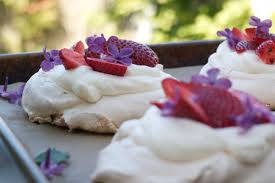 strawberry lilac pavlovas dunk u0026 crumble