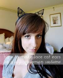 Halloween Costume Cat Ears Diy Catwoman Costume Ideas Diy Projects Craft Ideas U0026 U0027s