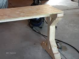 X Table Base Oliver And Rust Diy X Base Farmhouse Console Table