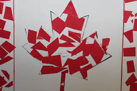 canada flag mosaics