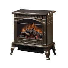 dimplex traditional 400 sq ft electric stove in bronze ds5629br