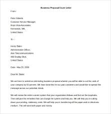 proposal cover letter word template letter idea 2018