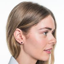 black stud earrings earrings