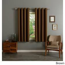 Blackout Curtains For Bedroom Rhf Blackout Thermal Insulated Curtain Antique Bronze Grommet