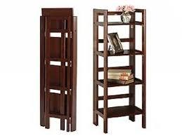amazing folding wood bookcases narrow folding bookcase fold up