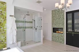 Bathroom Wall Mirror Ideas by Bathroom Master Bathroom Design With Wall Gas Fireplace And
