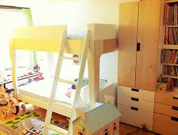 Three Peas In A Pod Our Nursery Mommas Gone City - Oeuf bunk bed