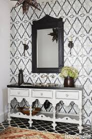 Black And White Powder Room Powder Room Decorating Ideas Powder Room Design And Pictures
