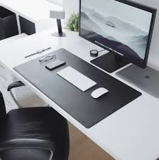 these clean u0026 minimal desk mats will perfectly complement any