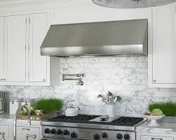 carrara marble subway tile kitchen backsplash marble subway tile transitional kitchen diana sawicki