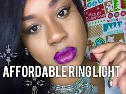 diva ring light amazon affordable amazon ring light unboxing demo youtube