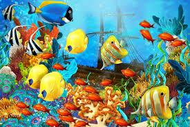 online get cheap ocean fish fabric aliexpress com alibaba group
