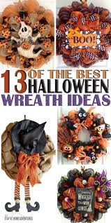 Black Halloween Wreath Top 25 Best Halloween Wreaths Ideas On Pinterest Halloween Door